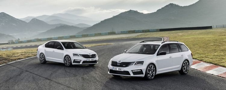 Updated Skoda Octavia RS checks-in
