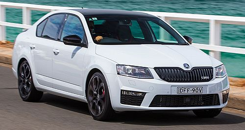Skoda pops in performance Octavia RS230