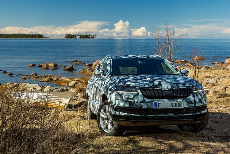 Skoda's Karoq small SUV here in 2018